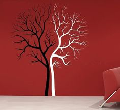 Couple Tree Wall Decal