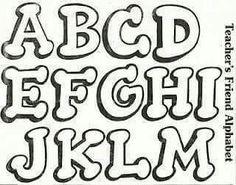 Bellas letras mayus