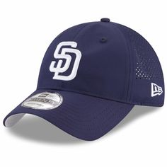 online retailer 30120 92439 Men s San Diego Padres New Era Navy Perforated Pivot 9TWENTY Adjustable Hat,  Your Price   25.99