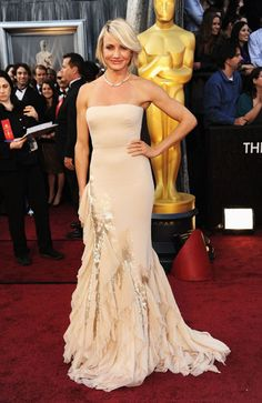 Cameron Diaz in Givenchy Couture