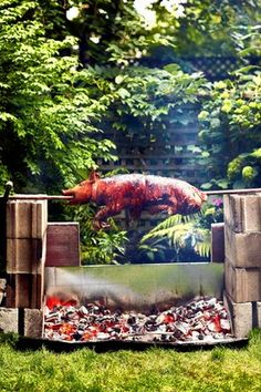 BBQ for rehearsal dinner, whole pig roast?