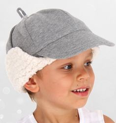 Fleecy Winter Beanie Hat for Girls and Baby