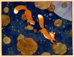 Lauren Henderson - Luve Space Foxes