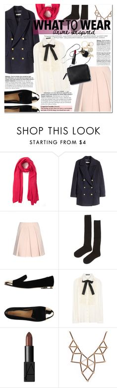 """Anime inspired: Hiyori style"" by hafsahshead ❤ liked on Polyvore featuring Cash Ca, H&M, Alexander McQueen, ilux, Dsquared2, Dolce&Gabbana, 3.1 Phillip Lim, NARS Cosmetics and Chicnova Fashion"