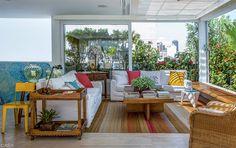 Varanda de apartamento: 15 boas ideias de decoração - Casa