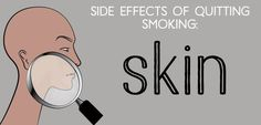 "What happens when you quit smoking (going ""cold turkey"" or with methods such as Chantix, Zyban, hypnosis, acupuncture, or nicotine patches), and how to avoid or alleviate the side effects."