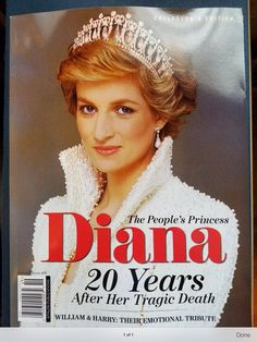 2017 Marks the 20th anniversary of Princess Diana's death.