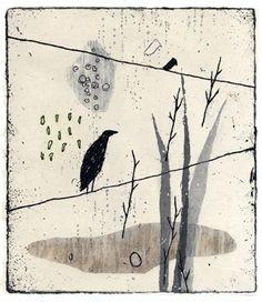 Kumi Obata / One Day / 185×160mm / Bologna Children's Book Fair 2010入選作品