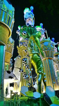 Carnaval Carnival Carioca Rio de Janeiro 2014 Desfile Sambódromo Brazil Brasil samba Marquês de Sapucaí