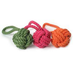 Rope Knot Tug Dog Toy