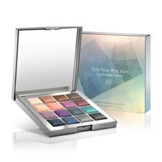 KIKO: Color Fever Must Have Eyeshadow Palette - 02 Elegant Tones -Limited