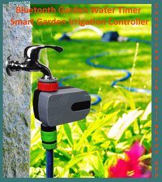 SMART Bluetooth Garden Water Timer Irrigation Controller,-Cellphone APP,IOS 7.0…