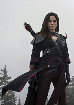 """I Nyssa will duel with Thalia."" ((Nyssa will be played by"