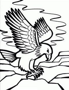 Bald Eagle coloring printable mosaics Pinterest Bald eagle