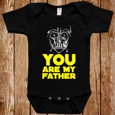 Funny Baby Infant Star Wars Inspired Bodysuit by ShirtCandy
