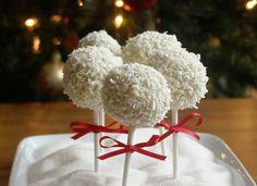 Snowball Cake Pops