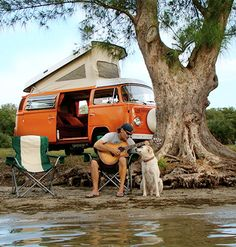 What's better than your #Volkswagen, your dog and the open roads? #Travel #RoadTrip #Fun