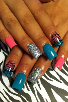 Cool Nail Designs Who said you have to go the same old boring ways when it comes to adding taste to you pretty looking nails? It doesn't matter if they grow long or you are crazily in love with them short as they are. Cool nail designs for long nails Stiletto designs for long nails.