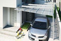 【三協アルミ】ニュースリリース/都市型住宅向けカーポート ミューテリア「M.ウォーク」発売