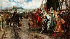 Francisco Pradilla, La rendición de Granada, 1882.