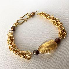 私の Etsy ショップからのお気に入り https://www.etsy.com/jp/listing/476192557/chainmaille-and-freshwater-pearl