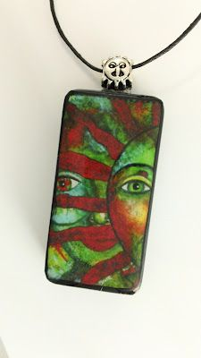 Art Play Today: Domino Art Pendant Tutorial: The moment has finally arrived!