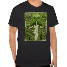Art Nouveau Absinthe Poster Shirt