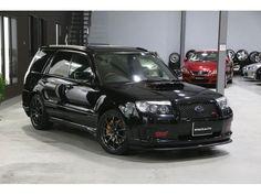 SUBARU FORESTER STI VERSION | 2007 | BLACK | 30,000 km | details.- Japanese used cars.Goo-net Exchange