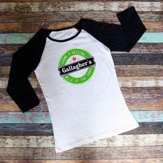 Milk Of The Gods / Gallagher's / Shameless / Frank's Brew / Tshirt / Raglan Shirt