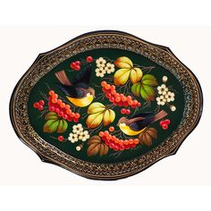 Zhostovo Metal Trays - History of Zhostovo Crafts Painted Trays, Hand Painted, Poster Drawing, Russian Folk Art, Metal Trays, Style Tile, Tray Decor, Moroccan Style, Artist Painting