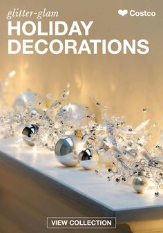 Before your annual Christmas party, fill your home with festive cheer using these Glitter Gem Garland Holiday Lights from Costco. Shop this collection of stunningly glamorous holiday decorations to find more affordable and festive items to adorn your home this season.