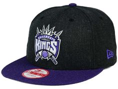 Sacramento Kings New Era NBA HWC Heather Action 9FIFTY Snapback Cap 2d119731e56