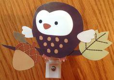 Carter's Forest Friends Owl Nursery Night Light Adorable Handcrafted   eBay