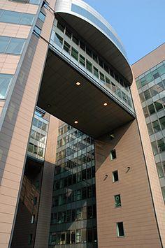 Volksbank by Arata Isozaki (Potsdamer Platz)
