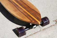 walnut with oak stringer 'Long Pin'