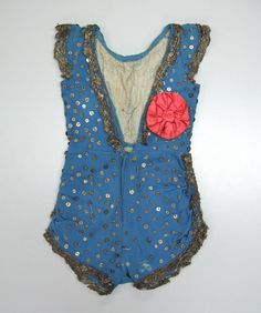 child's acrobat costume from around 1860 Not to unlike modern circus attire