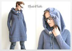 Nähanleitungen Mode - Kleid Vestis - ein Designerstück von Elfriede-und-Fridolin bei DaWanda