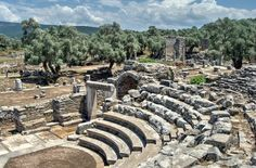 Theatre at the ancient city of  Iasos in Turkey