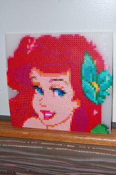 Ariel with perler beads