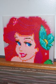 Ariel with perler beads