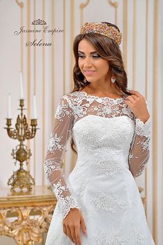 Suknie ślubne Kraków Lace Wedding, Wedding Dresses, Jasmine, Empire, Fashion, Bride Dresses, Moda, Bridal Gowns, Fashion Styles