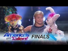 Ventriloquist Darci Lynne Farmer Wins 'America's Got Talent'------ Darci Lynne: Kid Ventriloquist Sings With A Little Help From Her Friends - America's Got Talent 2017 America's Got Talent Videos, Talent Show, Americans Got Talent, Season 12, American Spirit, Cover Songs, 12 Year Old, My Friend, Friends
