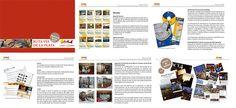 """Memoria Anual """" Red de cooperación de ciudades de la ruta de la plata"""" by alberto vega diseño gráfico & web, via Flickr"""