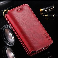 """Luxury i5 5S Leather Wallet Case for Apple iPhone 7 7 Plus 6 6S Plus 5.5"""" Phone Bag Cover for Apple iPhone7 6S Stand Card Slot"""