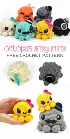 Free (Crochet) Pattern Friday! Octopus Amigurumi | Choly Knight