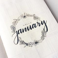 We rounded up 70 of the the most pretty and feminine floral bullet journal spreads to inspire you to be more creative! Floral spreads perfect for beginners Bullet Journal Inspo, Planner Bullet Journal, Minimalist Bullet Journal, Bullet Journal Titles, Bullet Journal Cover Ideas, January Bullet Journal, Bullet Journal Spread, Bullet Journal 2019 Calendar, Bullet Journal Fonts Hand Lettering