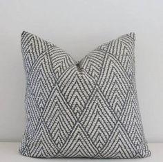 grey ikat pillow - Google Search