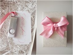 Thumb Drive Packaging #deborahzoephotography (if ever giving a gift using a USB this is beautiful)