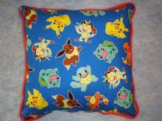 Pokemon Pillows by GoughGoodies on Etsy