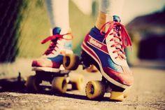 Splurge Fridays - Saint Laurent Roller Skates